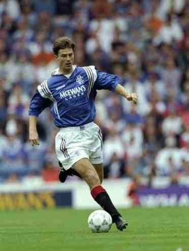 Brian Laudrup of Rangers in 1996.