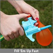 Amazing automatic water balloon filler and tier!