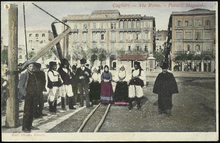 Sardegna DigitalLibrary - Cagliari, Via Roma 1905