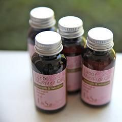 Labor Massage Oil is great for your hospital bag or doula bag. clary sage and lavender