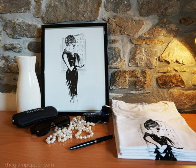 Le t-shirt con le mie illustrazioni | http://www.theglampepper.com/2016/06/06/le-t-shirt-con-le-mie-illustrazioni/