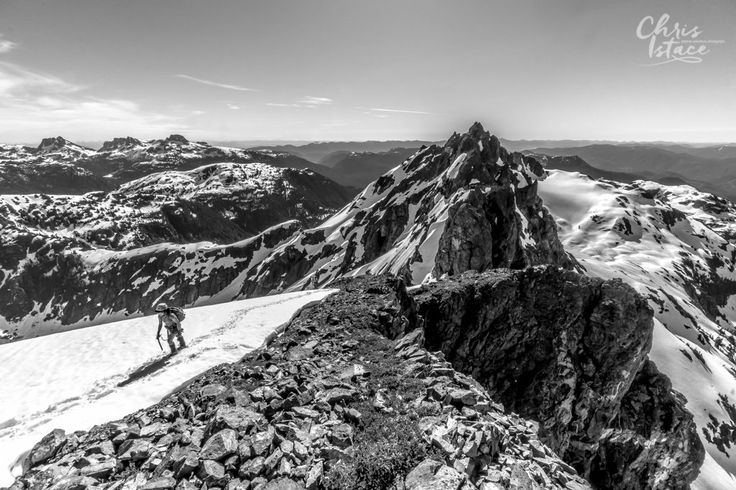 Vancouver Island Mount Septimus - Mountaineering trip