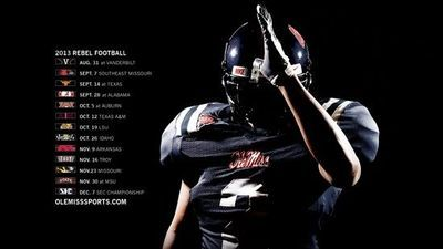 2013 Ole Miss football schedule.