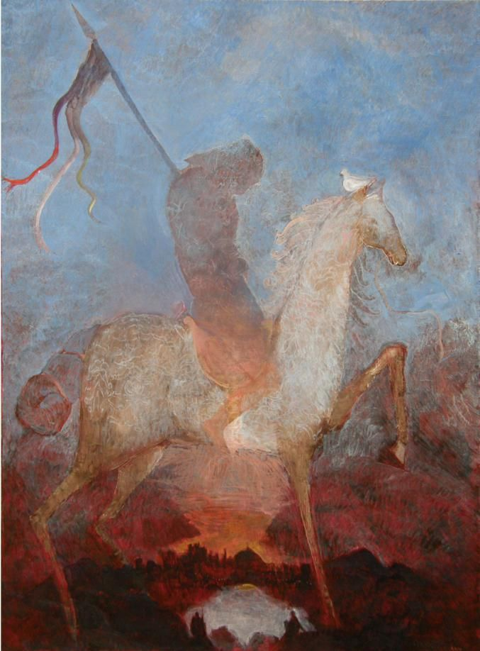 Parsifal - Döbröntei Zoltán festménye