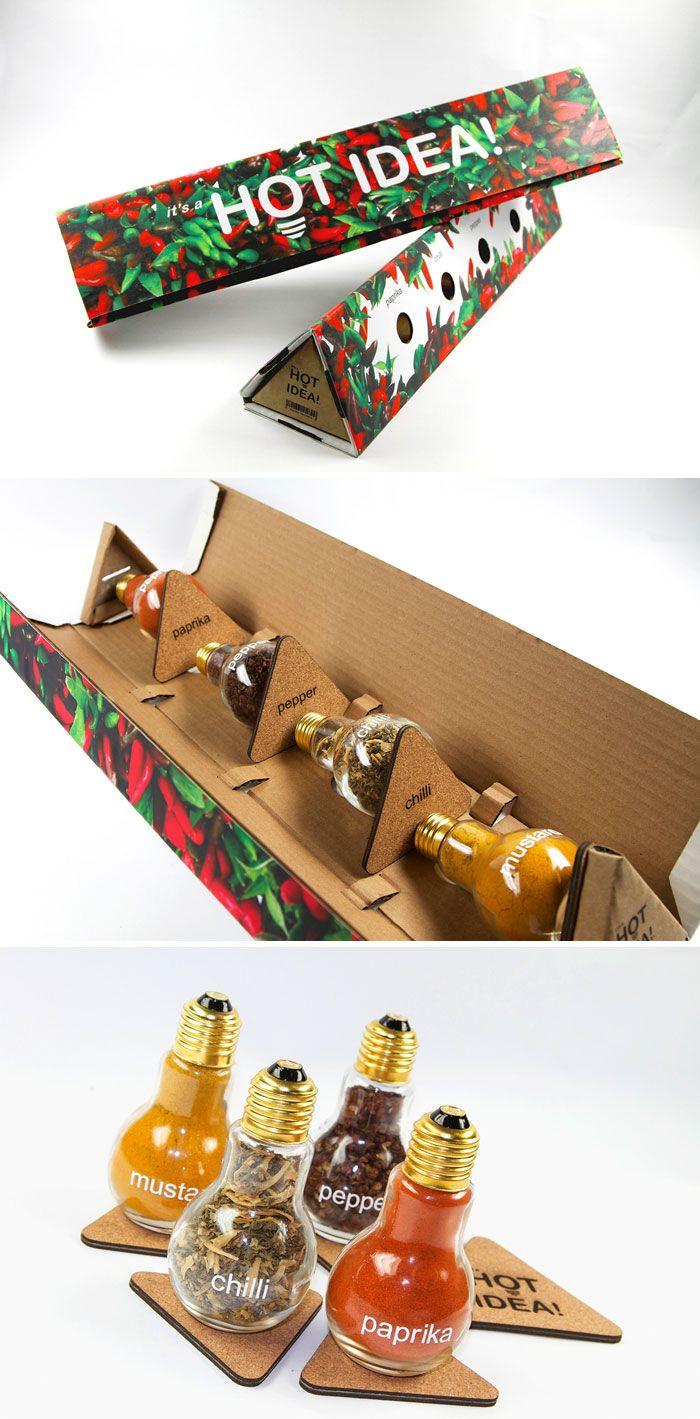 Diseños creativos de envases para alimentos