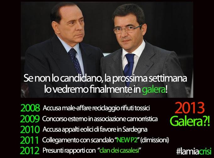 Nicola Cosentino cacciato da Berlusconi!