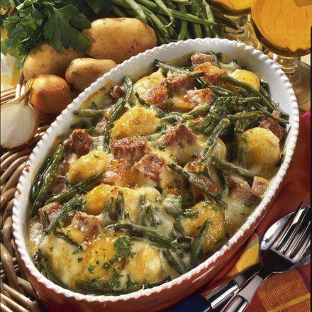 Bohnen-Kartoffel-Auflauf Rezept   LECKER