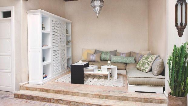 Nádherný dům v Maroku