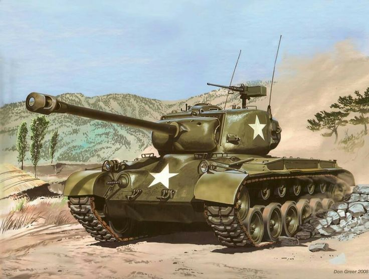American Heavy Tank M26 Pershing