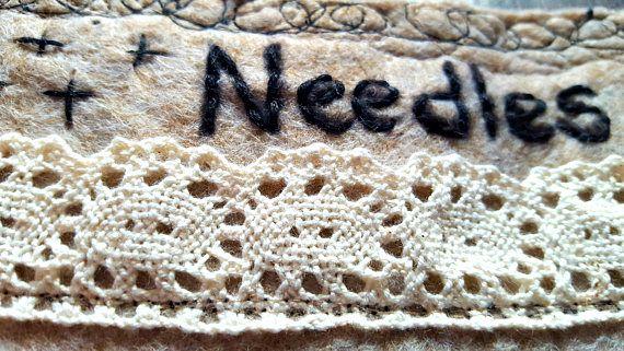 SASHIKO NEEDLE BOOK Contemporary Needle Holder Waterproof