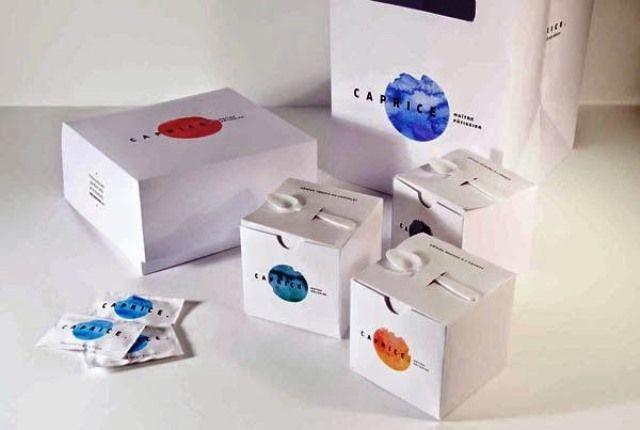 Desain Kreatif Kemasan Makanan - Packaging Caprice oleh Mariane Gaudreau