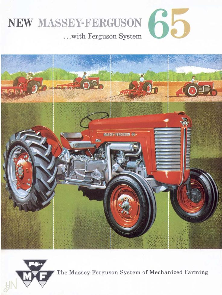 1958 Ferguson Tractor Attachments : Best classic vintage tractors images on pinterest old