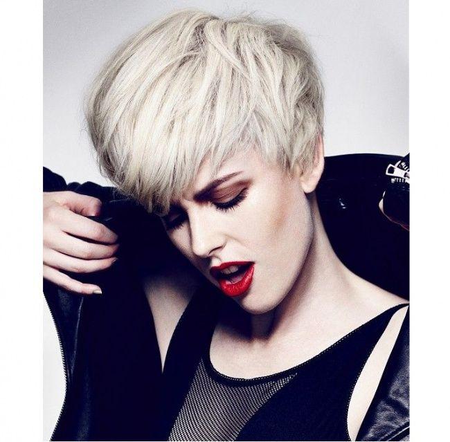 Krótkie fryzury damskie - nowoczesne i bardzo kobiece - Strona 4