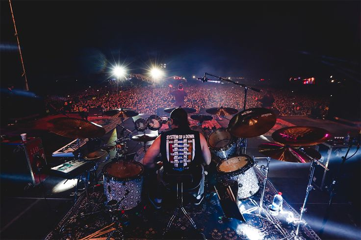 John Dolmayan, System of a down. Chile 2015