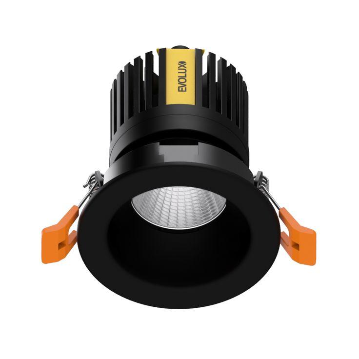 MagicDownlight LED Retraido Negro