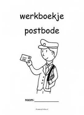 Werkboekje postbode 1