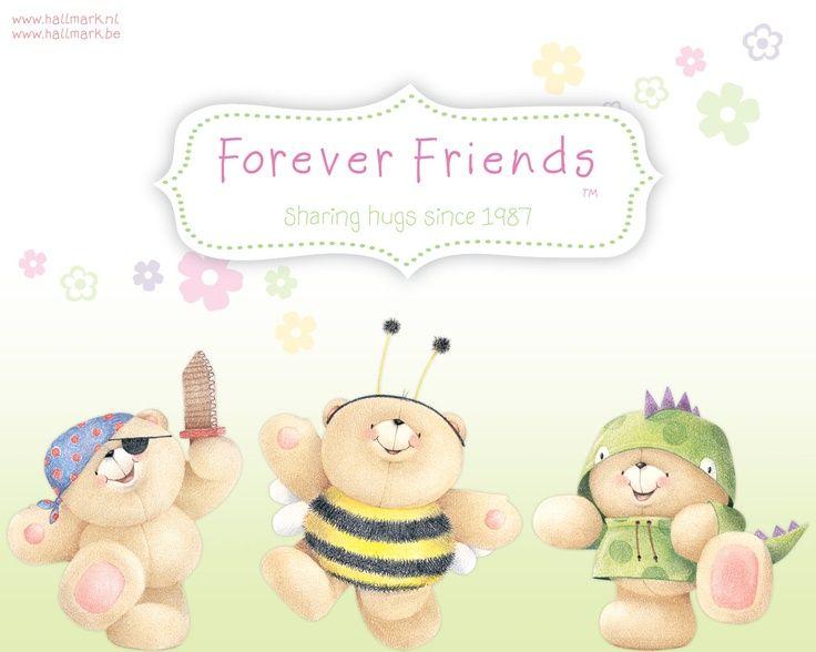 #foreverfriends #teddy #wallpaper