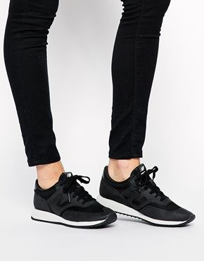 There's something about all-black sneakers that make them casual and yet formal. Very functional minimalist chic. I'm making sure to get a pair.