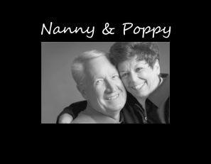 """Nanny & Poppy 4""""x6"""" Photo Frame"""