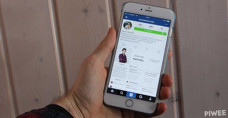 Cet étudiant en pub transforme son compte Instagram en un véritable CV !