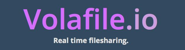 Volafile io: For secure file sharing  There will be no traces left