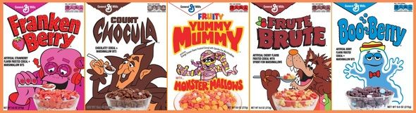 Check out the new General Mills Monster Cereals & enter to win a Monster Cereal Prize Pack and $25 Target Giveaway