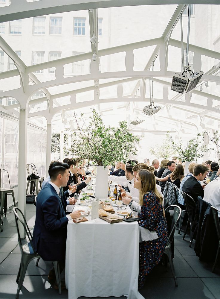 a san francisco brunch wedding for the books wed insp