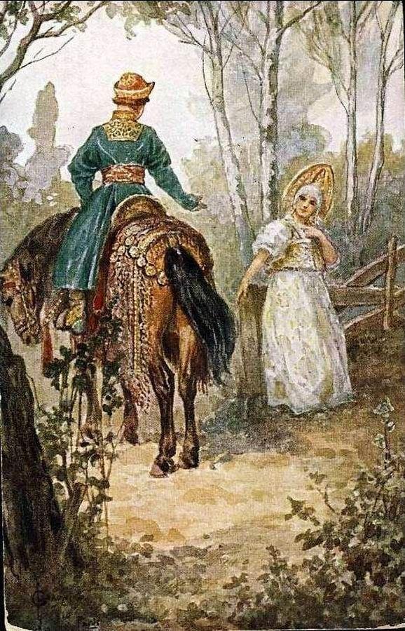 Художник Сергей Соломко в начале XX века оглянулся на 3-4 века назад и увидел совсем иных бояр.