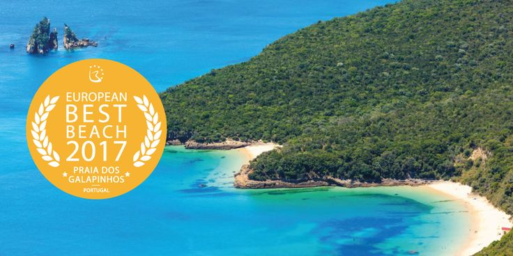 Congratulations to Praia dos Galapinhos in the Arrábida Natural Park, #Setúbal, for winning the award of Best European Beach Destination 2017! | 03/05/2017 After Porto being awarded three times European Best Destinations, now we have on the first place of the podium for the most beautiful #beach in Europe, the amazing Praia dos Galapinhos, situated in the Arrábida Natural Park, Setúbal. #Portugal