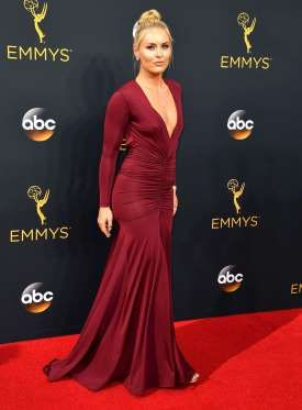 Lindsey Vonn attends the 68th Annual Primetime Emmy Awards - Steve Granitz/WireImage/Getty Images