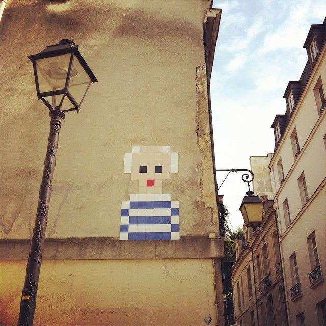 #picasso #spaceinvader #streetart #paris
