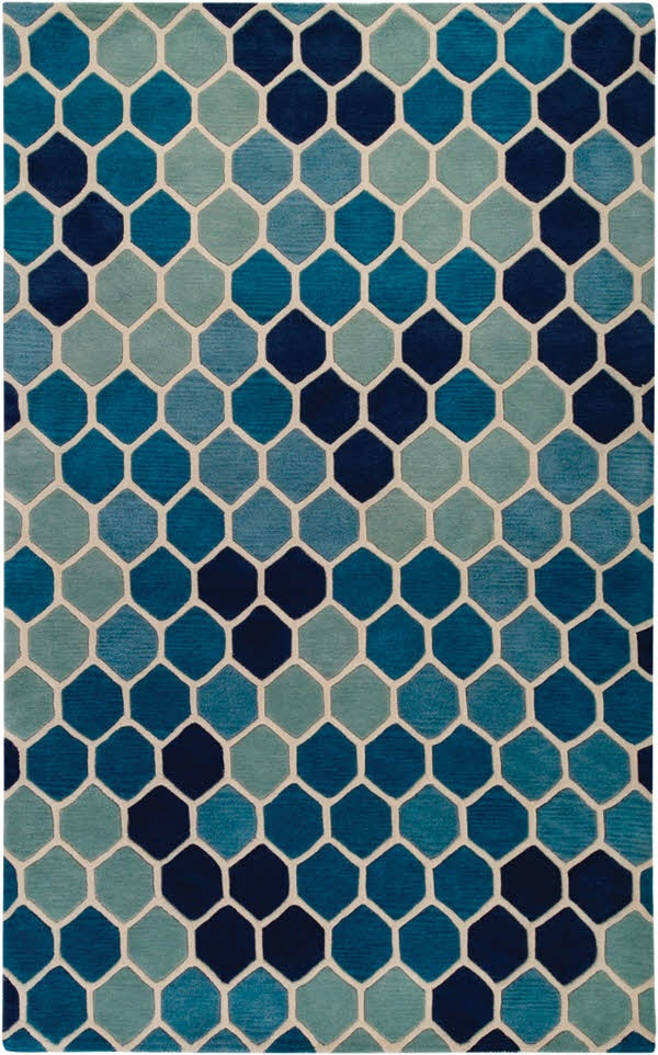 Honeycomb Rug Rugs On Carpet Rugs Contemporary Rugs
