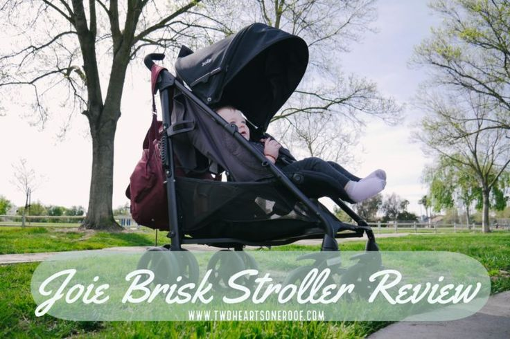 Joie Brisk Stroller Review - Why its the perfect stroller for travelling abroad