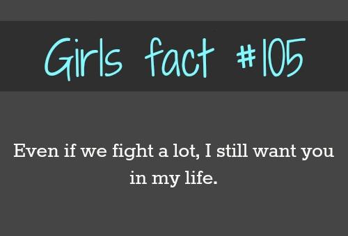 Girls Fact 105