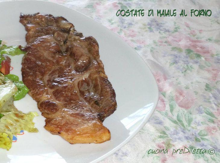 Costate di maiale al forno, ricetta, cucina preDiletta