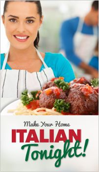 """Publix Store Printable Coupons: """"Make Your Home Italian Tonight""""!"""