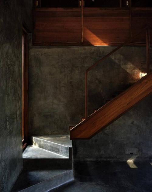 Casa em Belavali / Studio Mumbai Architects: Modern But, Interiors Wall, Concrete Stairs, Houses Studios, Belavali Houses, Modern Architecture, Interiors Design, Studios Mumbai, Home Studios