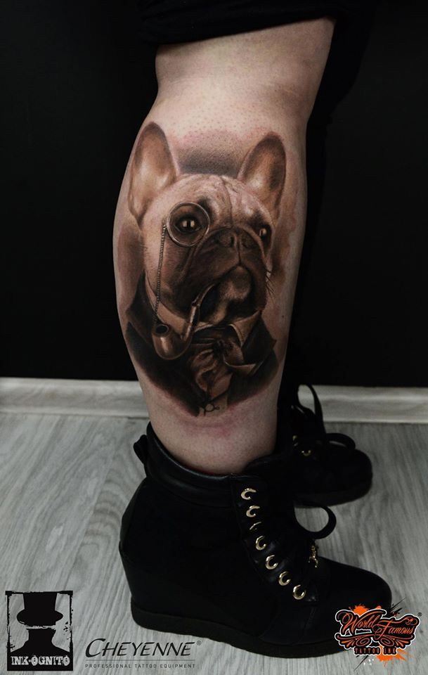 226 best tattoos i like images on pinterest french bulldog tattoo french bulldogs and tatoos. Black Bedroom Furniture Sets. Home Design Ideas