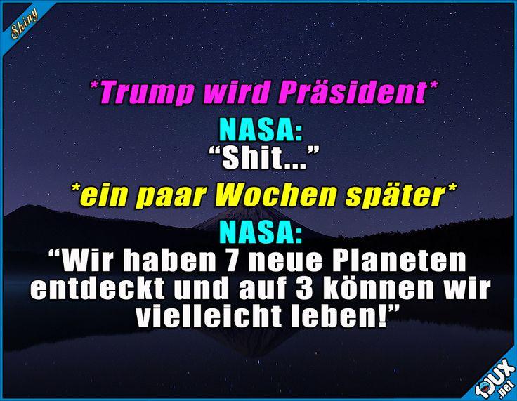 Plötzlich ging es ganz schnell! ^^' #Planeten #Nasa #Sprüche #Außerirdisch #Außerirdische #Humor #lustig
