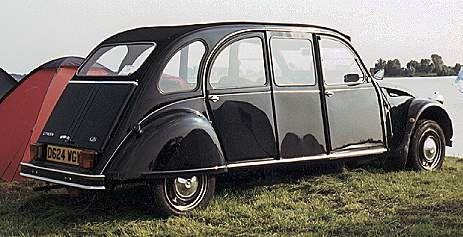 2CV Limousine | Le site référence sur la 2CV - 2cv-legende.com