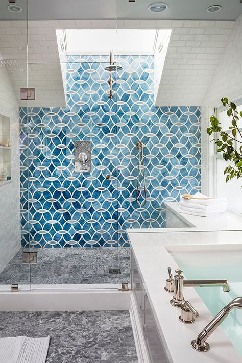 Ann Sacks tile | Massucco Warner Miller Interior Design