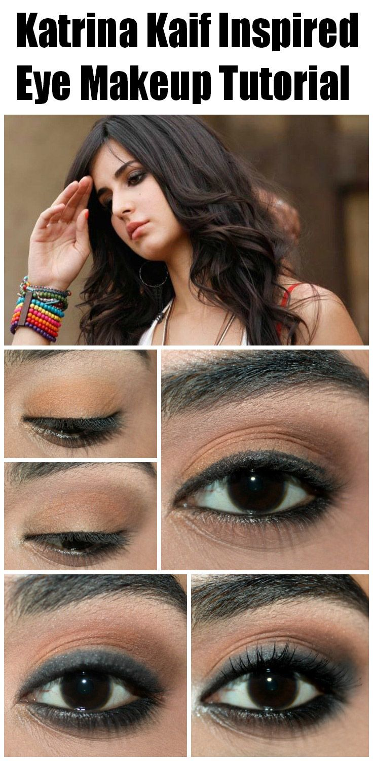 Katrina Kaif Inspired Eye Makeup Tutorial – With Detailed Steps