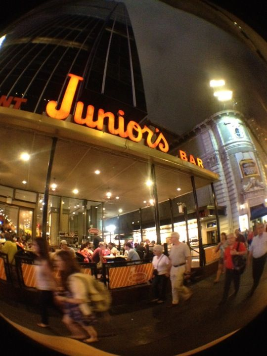 Junior's Restaurant - have some cheesecake!