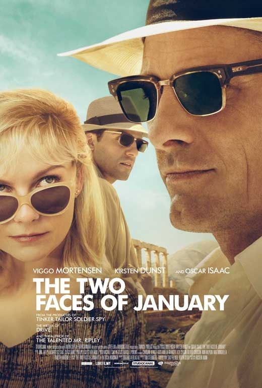 The Two Faces of January (2014) - Synopsis: A thriller centered on a con artist, his wife, and a stranger who flee Athens after one of them is caught up in the death of a private detective.
