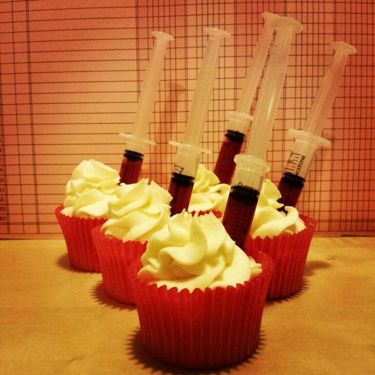 Nurses cupcakes