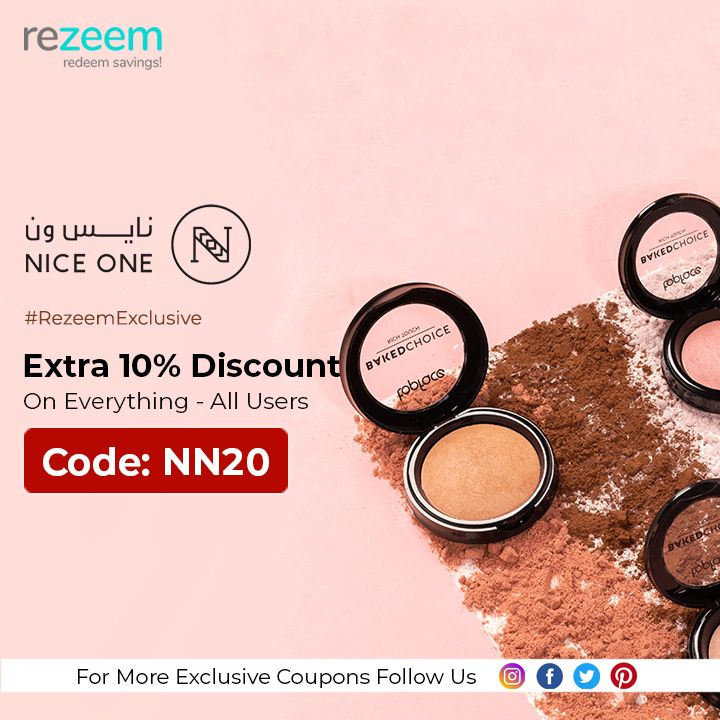 Extra 10 Off Niceone Coupon Code Nn20 Beauty Coupons Coupon Codes Coupons