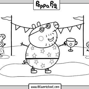 printable peppa pig coloring pages for kids  peppa pig