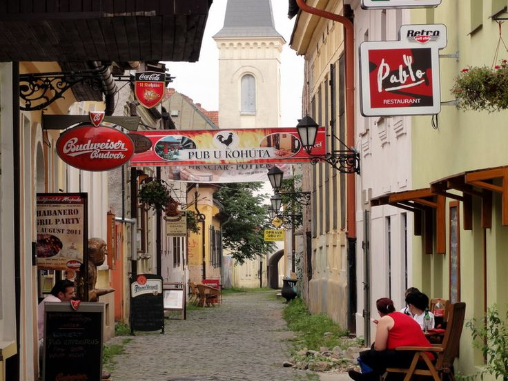 Slovakia. Although in the historical heart of Košice and full of small craft and gift shops, yet almost forgotten. Thanks to the second Slovak president and former mayor of Kosice Schuster the street was reborn and transformated to the picturesque tourist attraction.