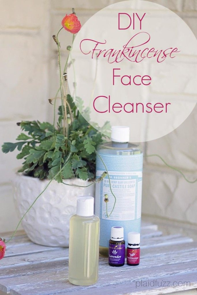 DIY Frankincense Face Cleanser - The House of Plaidfuzz