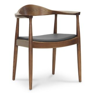 Baxton Studio Embick Mid Century Modern Dining Chair  Single Chair   Dining  Chair Brown  Black  Faux Leather 635 best Mid Century Modern Chairs images on Pinterest   Chairs  . Mid Century Modern Chairs Overstock. Home Design Ideas